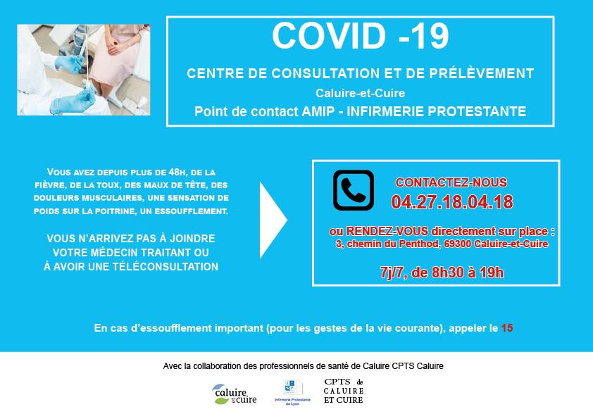 Centre dépistage Covid-19