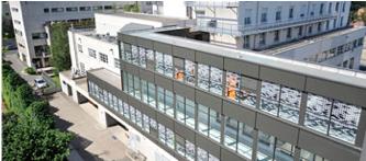 Bâtiment de la clinique Protestante à Lyon