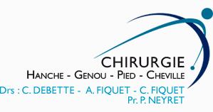 Logo site Drs Debette Fiquet Chirurgien Orthopediste