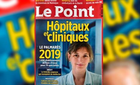 Classement 2019 du magazine « Le Point »